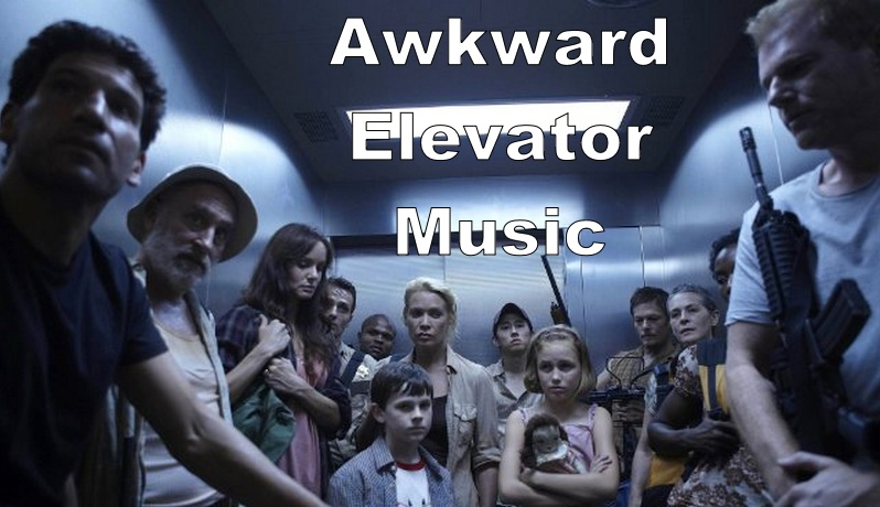 Awkward walking dead elevator music