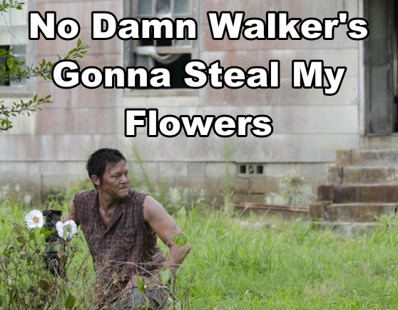 Daryl guards his Cherokee Rose