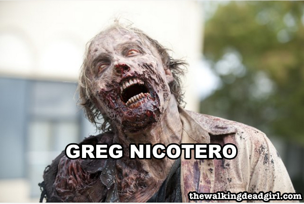 Greg Nicotero as the Woodbury walker
