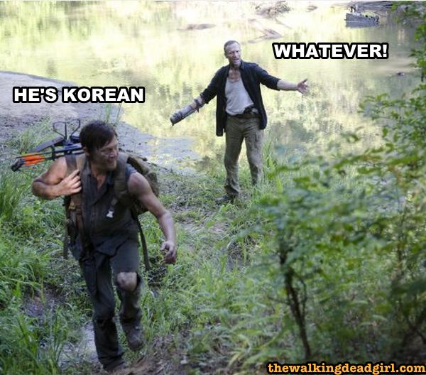 He's Korean - Whatever!