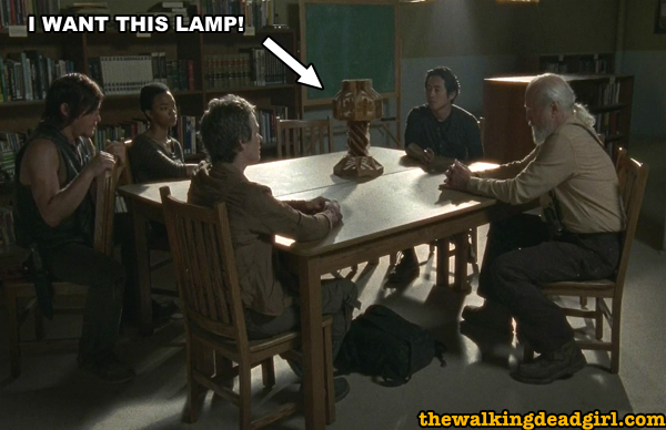 I want this Walking Dead council lamp