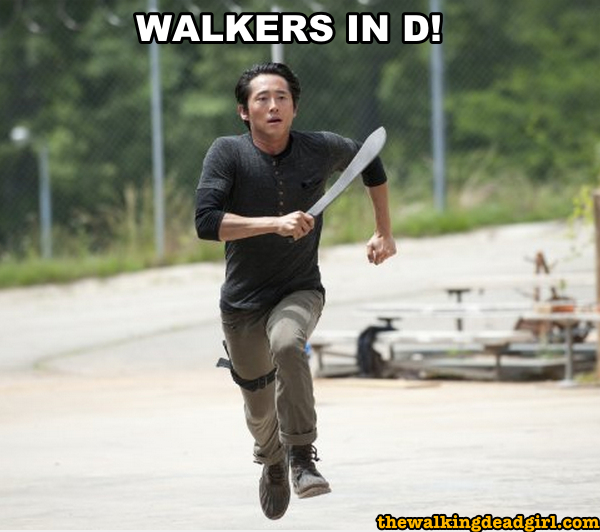 Walkers in D! - The Walking Dead