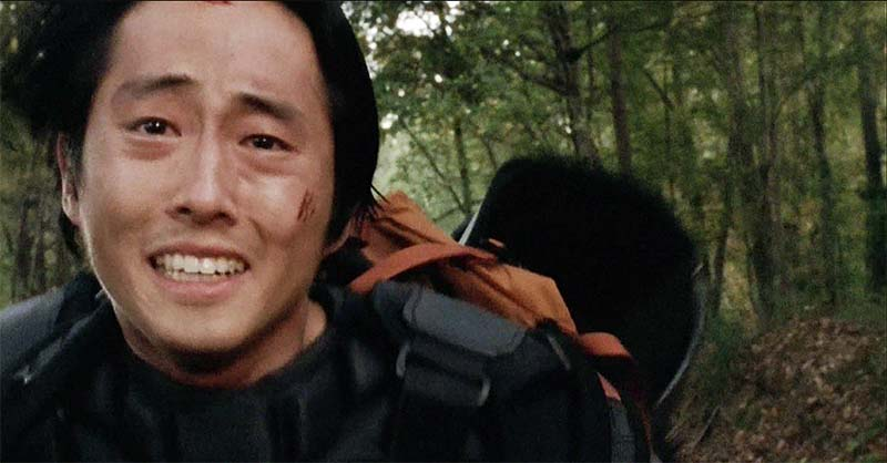 Glenn has hope to find Maggie
