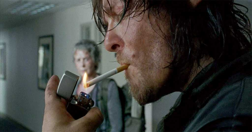 Daryl Smoking
