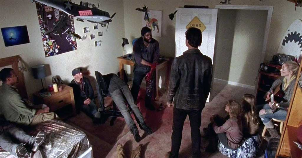 Tyreese confronts the good and the bad