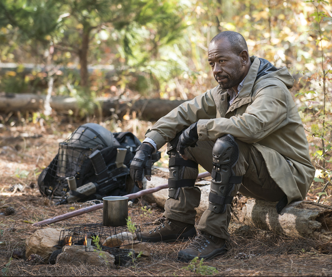 Morgan (Lennie James) makes a return in the finale.
