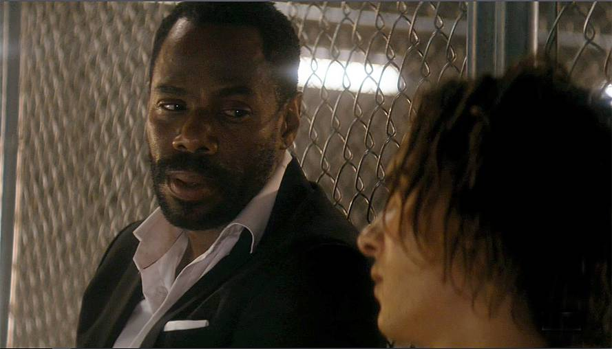 Strand (Colman Domingo) and Nick (Frank Dillane). Discuss plans to escape. on Fear the Walking Dead