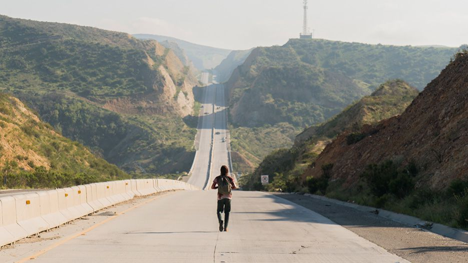 Nick Clark (Frank Dillane) in Episode 8 Photo by Richard Foreman/AMC