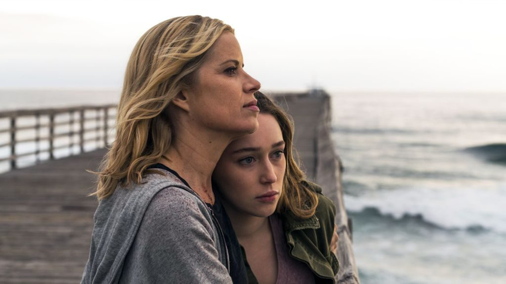 Kim Dickens and Alycia Debnam-Carey in Fear the Walking Dead